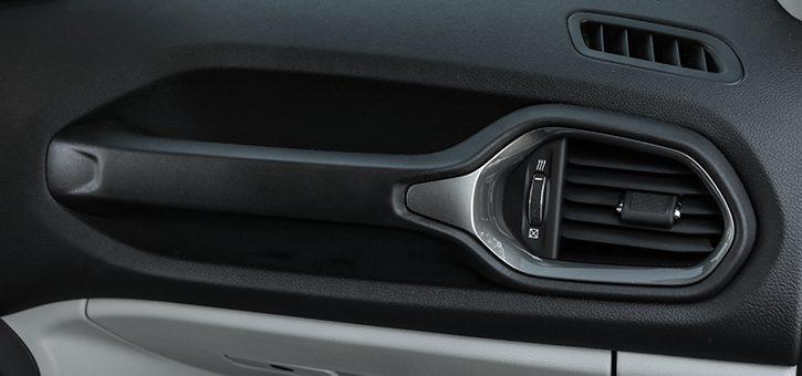 Dettagli del comfort di Jeep Renegade
