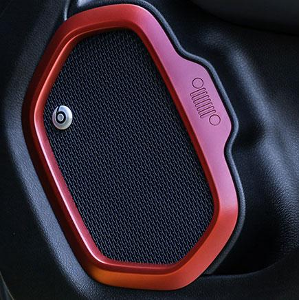 impianto audio premium con 9 altoparlanti e branded tuning