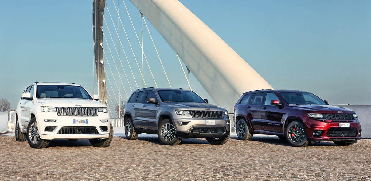 Jeep продает в России самую мощную версию Grand Cherokee